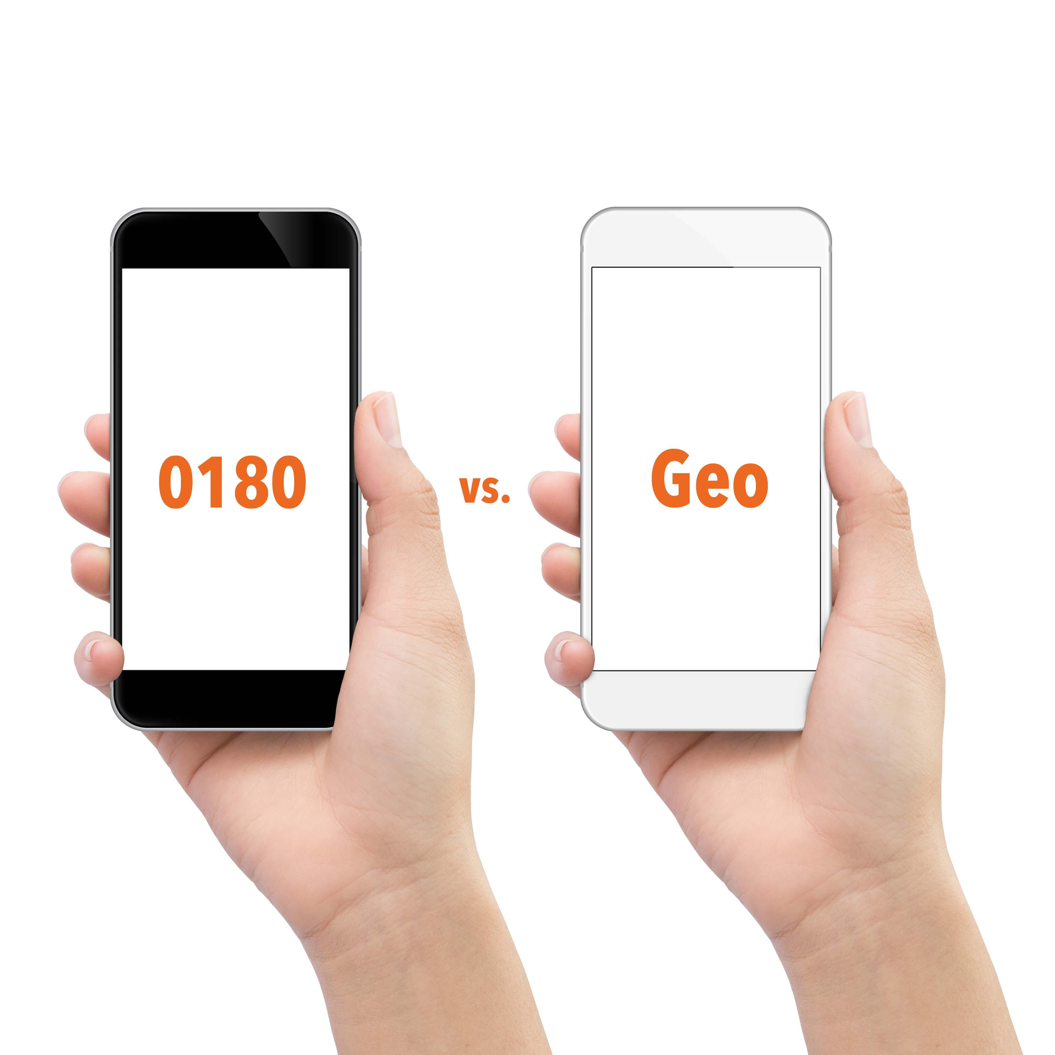 Geo ist die 0180 Ersatznummer